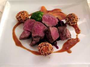 Alternative Christmas Dinner Venison