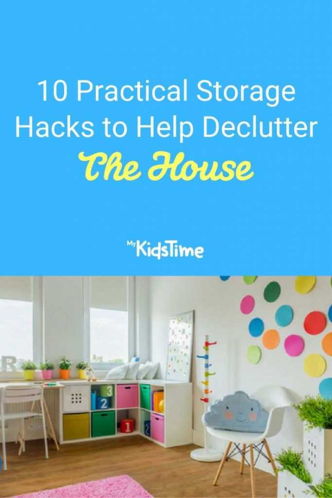 10 Practical Storage Hacks to Help Declutter The House