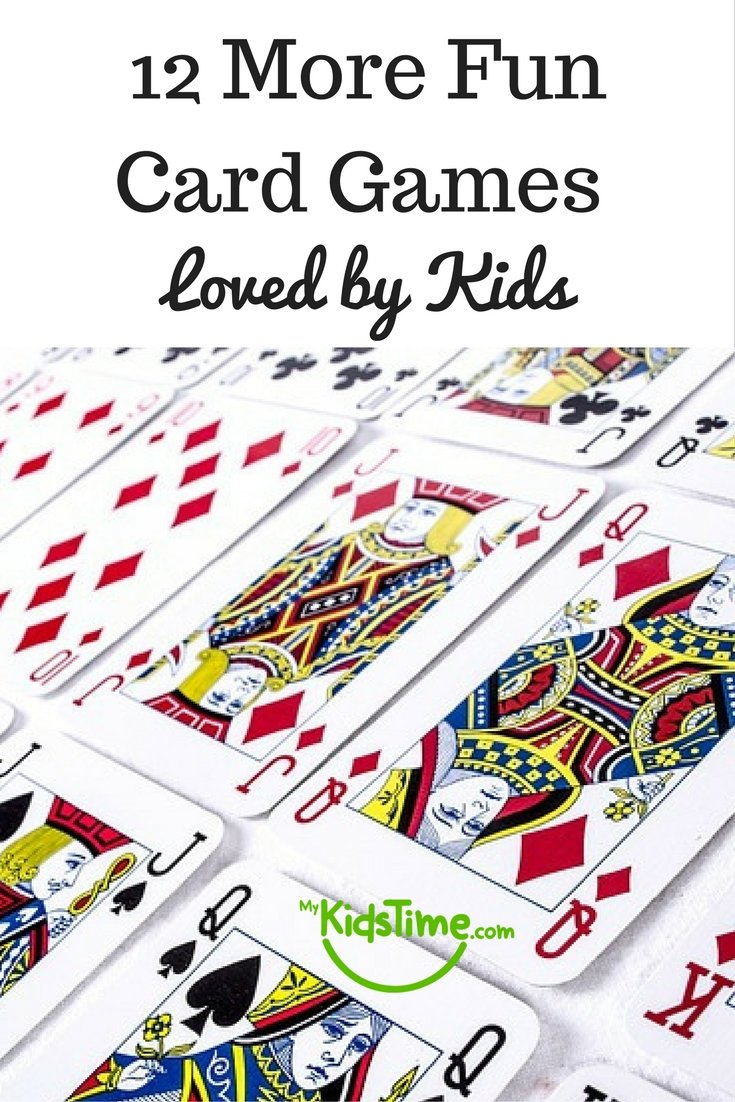 12 More Fun Card Games Loved by Kids
