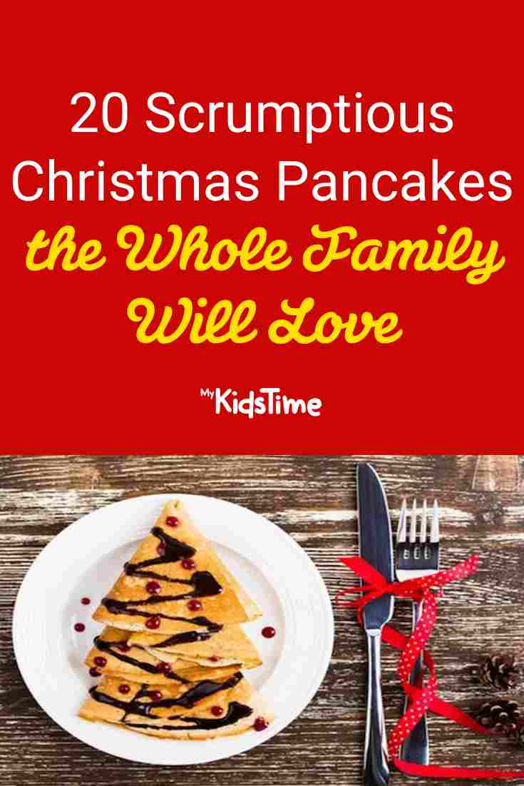 20 Christmas pancakes the Whole Family Will Love - Mykidstime