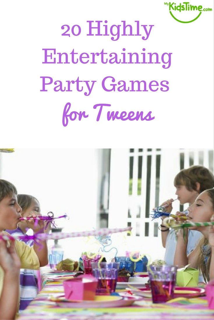 Birthday Party Games For Kids. Games For Birthday Party At Home ...
