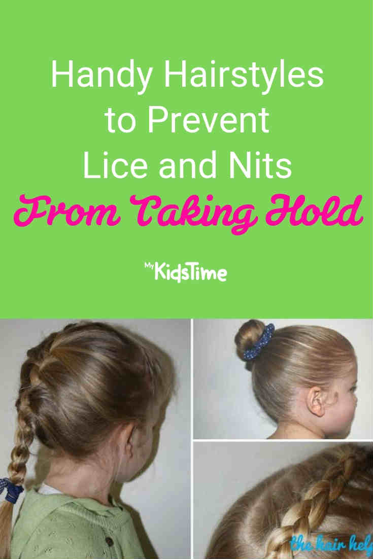 Handy Hairstyles to Prevent Lice and Nits - Mykidstime