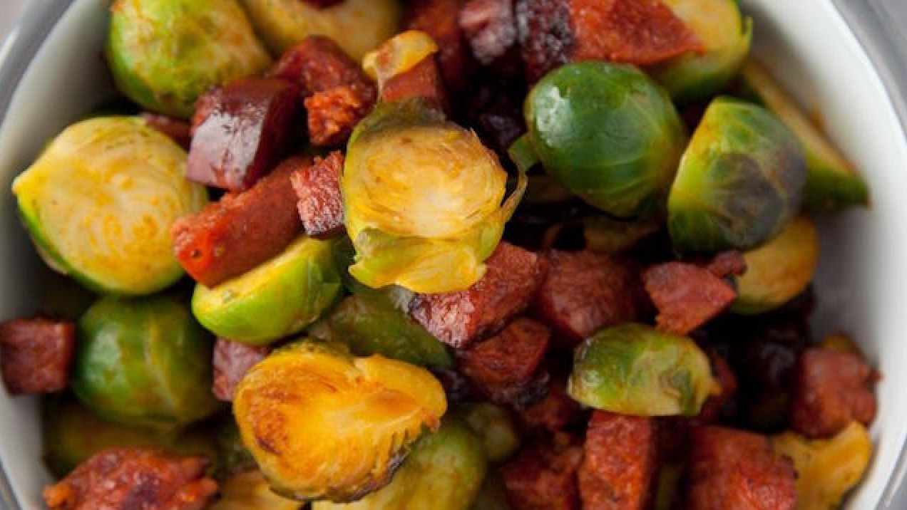 Brussel Sprouts Recipe from Kevin Dundon
