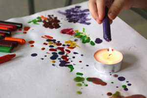 things to do with broken crayons