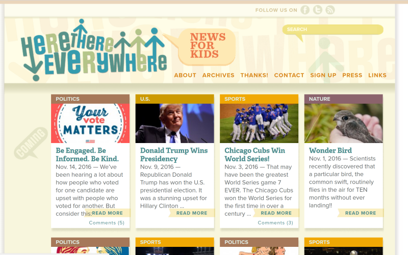 Finally Not A Website But An App The News O Matic Is Interactive Paid Subscription Based Newspaper For Kids Ages 7 10