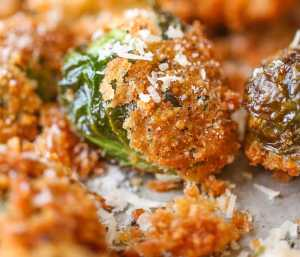 Brussels Sprouts Recipes with Parmesan cheese