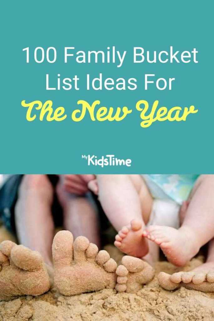 100 family bucket list ideas for the new year