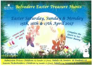 Belvedere House Easter Treasure Hunts