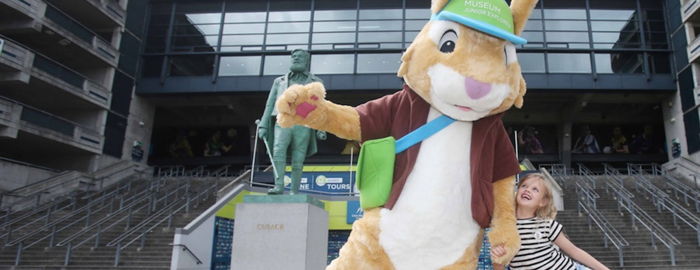 Croke Park Junior Explorers Tour Easter Egg Hunts Things to do in Ireland