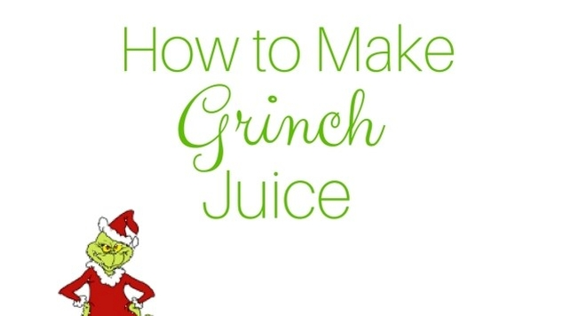 how to make grinch juice