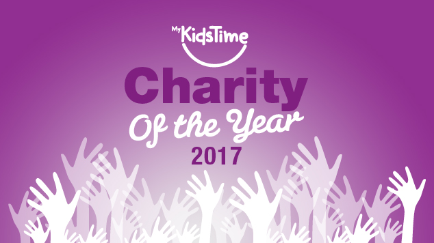 mykidstime charity of the year