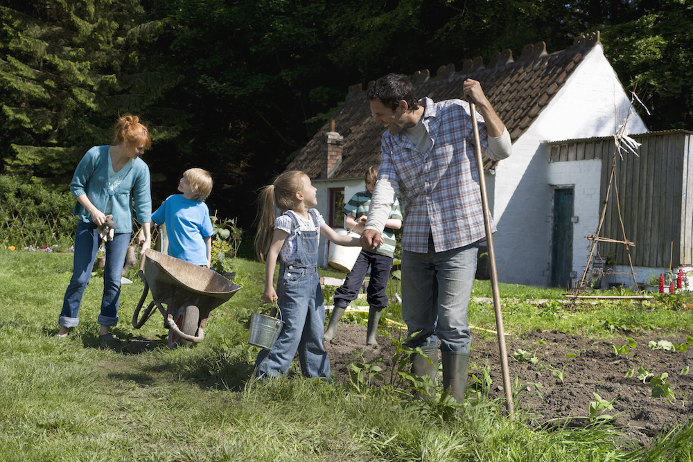 Family Bucket List for the New Year Gardening