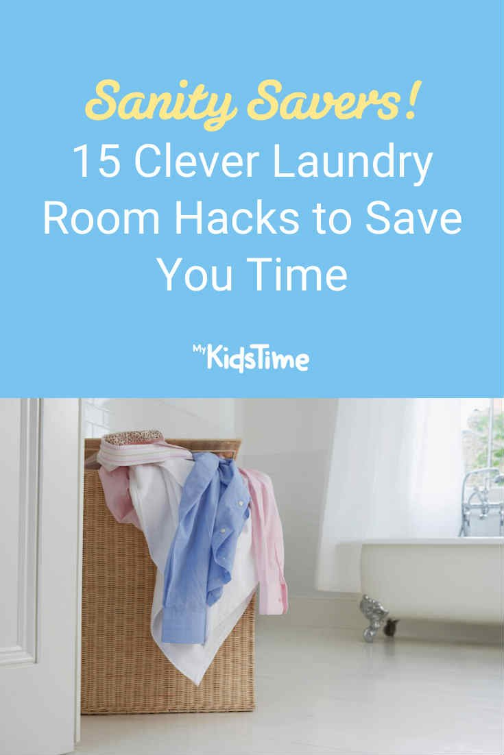 15 Clever Laundry Room Hacks to Save You Time - Mykidstime