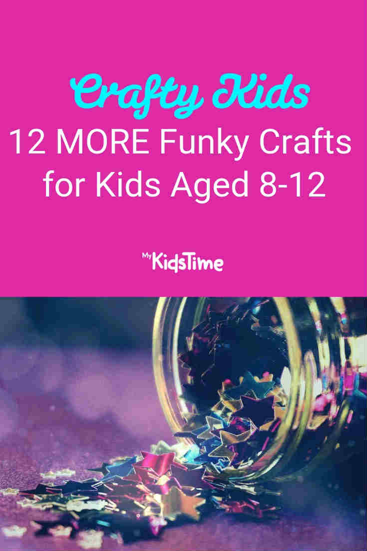 Crafty Kids 12 MORE Funky Crafts for Kids Aged 8-12 - Mykidstime (1)