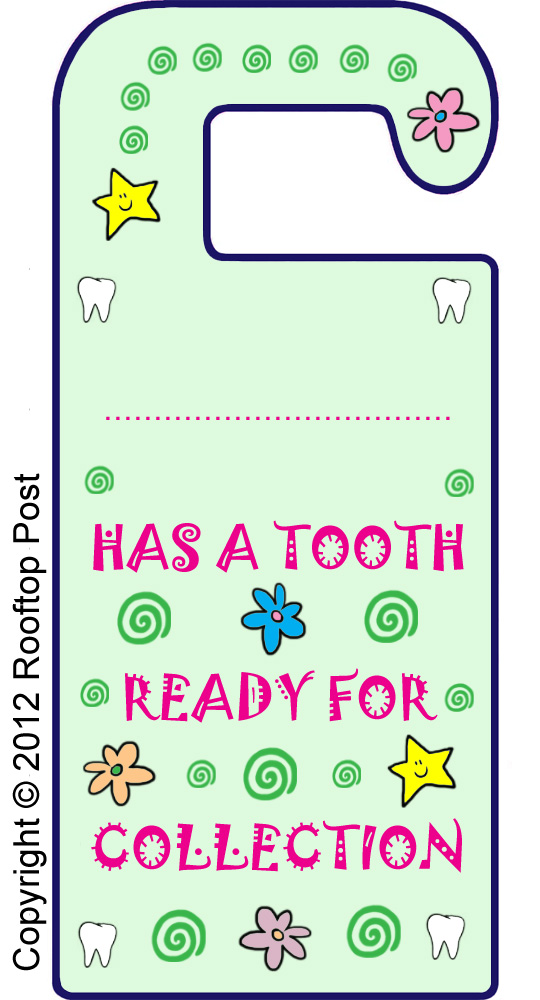 tooth fairy ideas door hanger  sc 1 st  MyKidsTime & 7 Tooth Fairy Ideas Guaranteed to Sprinkle a Little Magic