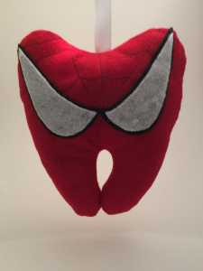 tooth fairy ideas spiderman-tooth-pillow