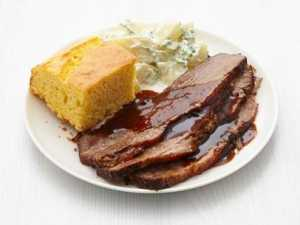 easy slow cooker recipes Slow Cooker Barbecue Brisket