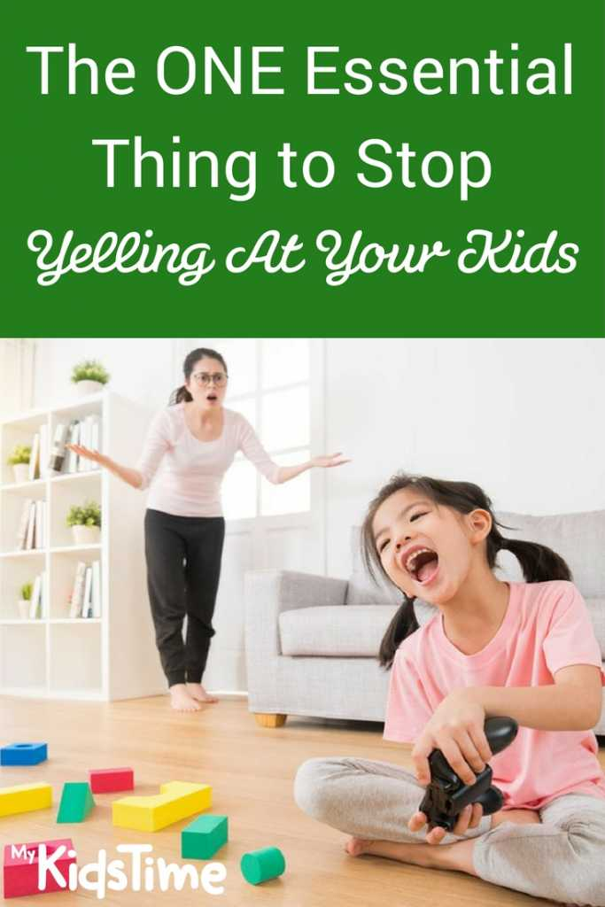 yelling at kids