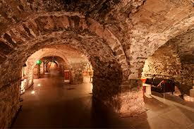 crypt at christchurch mythical places to visit in Ireland
