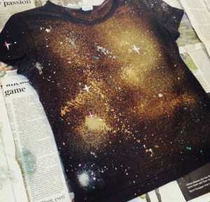 Crafts for Kids galaxy print t-shirt by hand of london