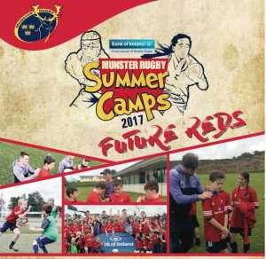 Munster Rugby Summer Camps 2017