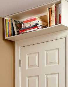 over door bookcase