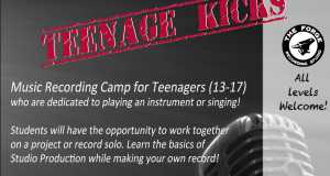 Music Summer Camp for Teens Teenage Kicks