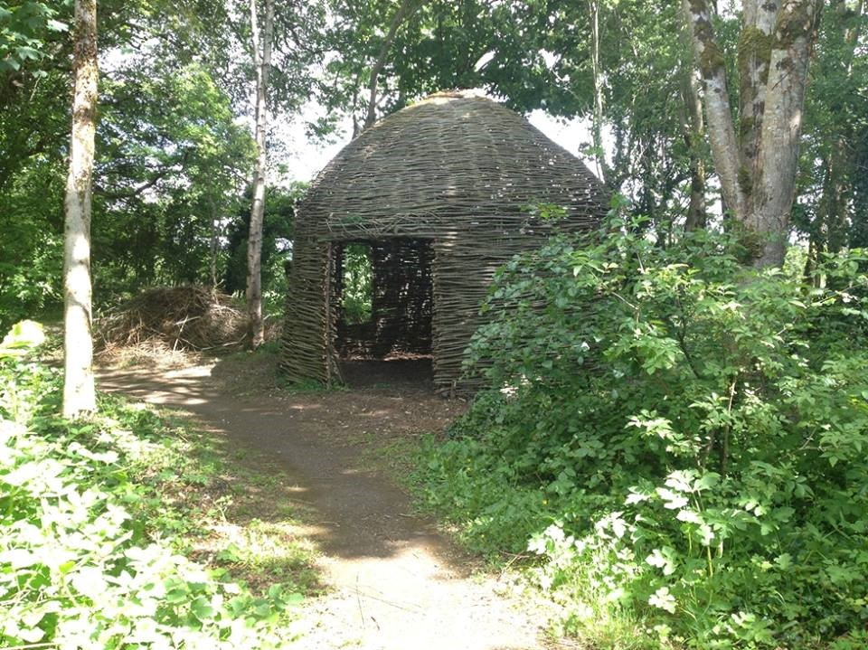 willow house at the Museum of Country Life