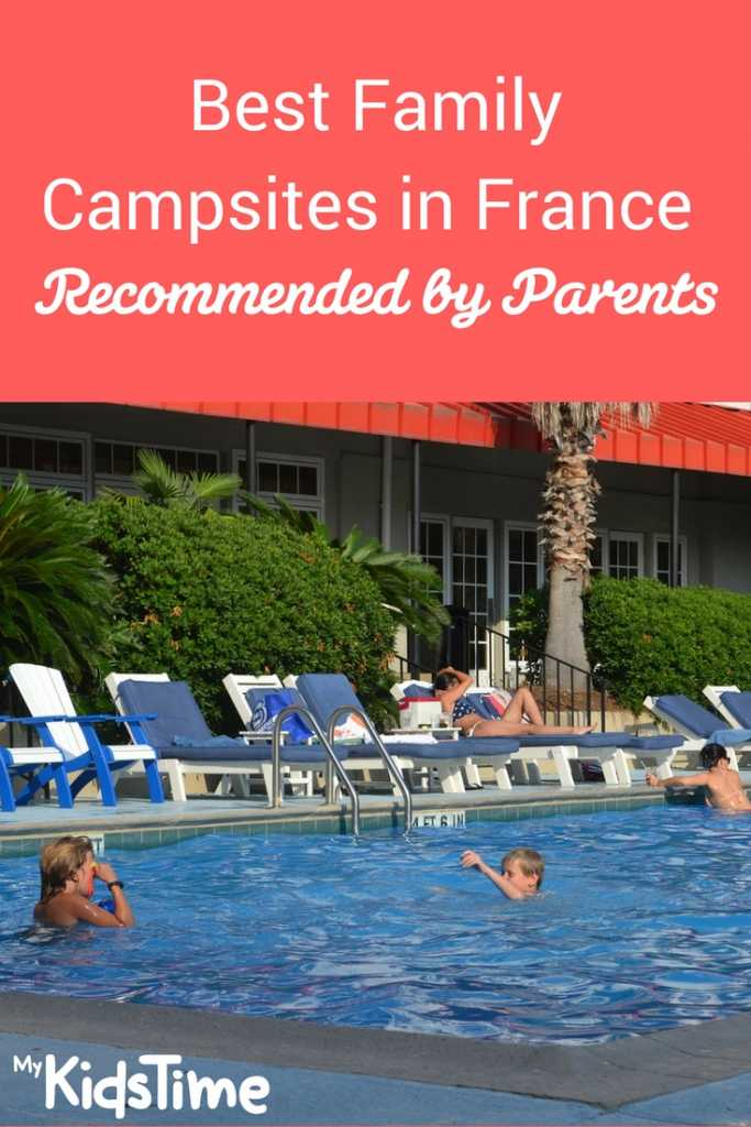 best family campsites in France