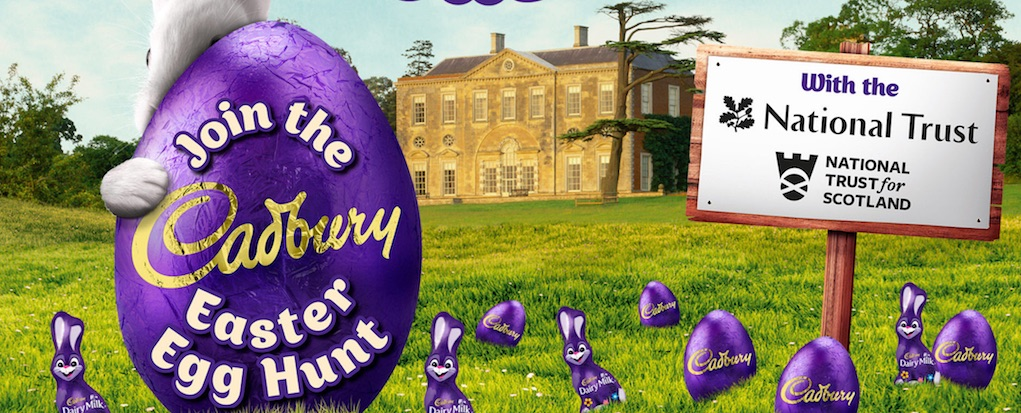 Cadbury easter egg hunts Easter events for kids and families in the UK