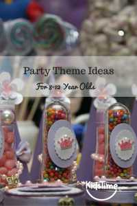 Party Ideas for 8-12 year olds