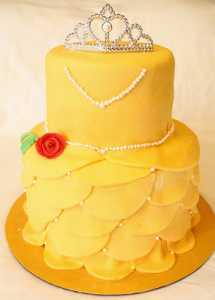 9 Amazing Belle Birthday Cake Ideas Your Princess Will Love