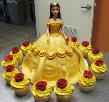 Outstanding 9 Amazing Belle Birthday Cake Ideas Your Princess Will Love Personalised Birthday Cards Paralily Jamesorg