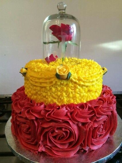 40 Amazing Belle Birthday Cake Ideas Your Princess Will Love Unique Princess Belle Decorations