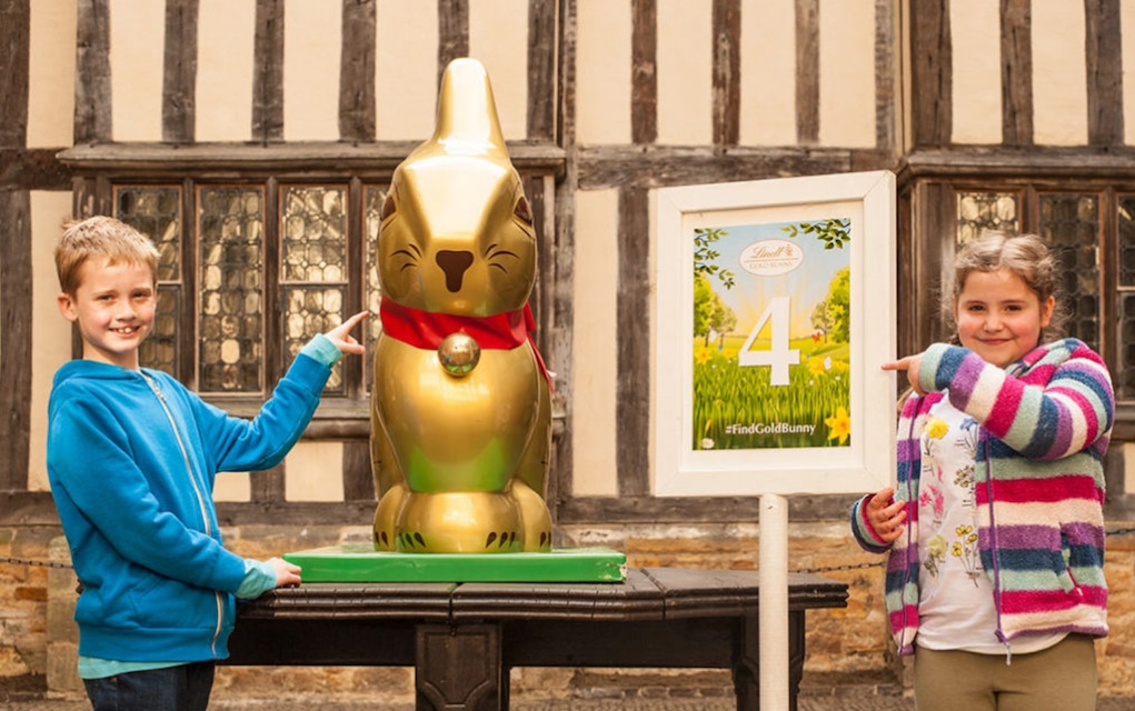 Easter events for kids and families in the UK Hever Castle Lindt Easter Hunt