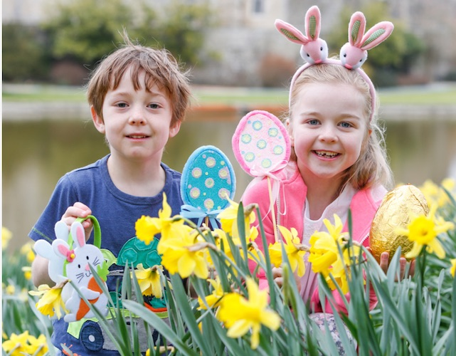 Easter events for kids and families in the UK Leeds Castle