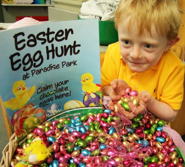 Easter events for kids and families in the UK Paradise Park Easter Egg Hunt
