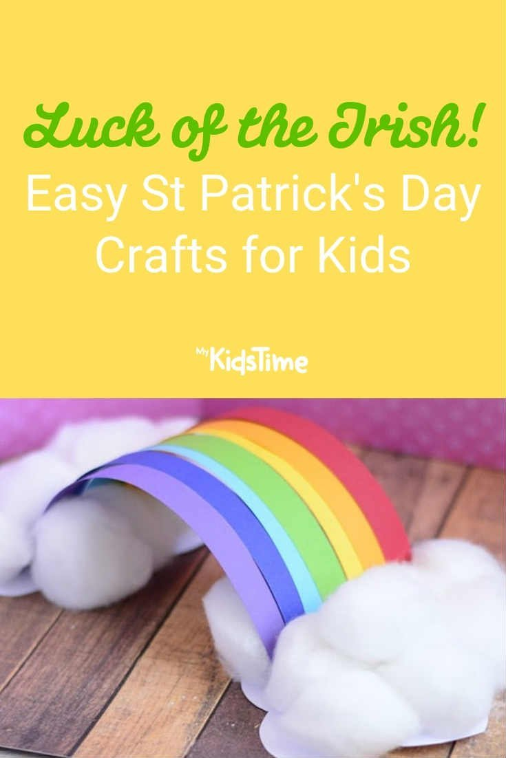 Easy St Patrick's Day Crafts for Kids - Mykidstime
