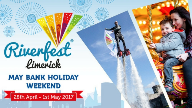 family events Riverfest Limerick 2017