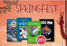 Springfest Eason Books Offer