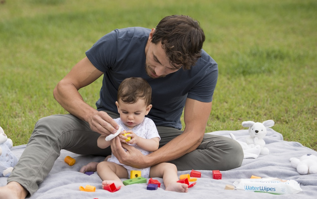 Water Wipes picnic parenting milestones and memories