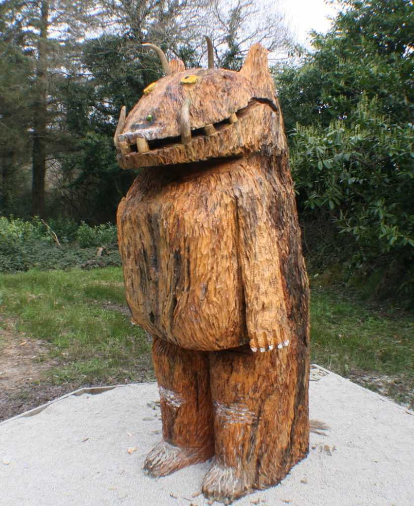 low costs things to do in Ireland Gruffalo Trail at Wells House Wexford