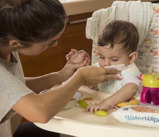 water wipes weaning parenting milestones and memories
