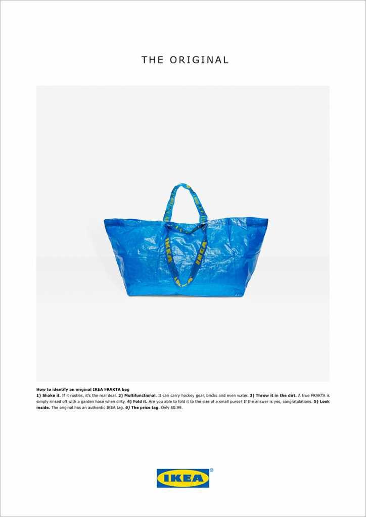 IKEA Balenciaga Response Ad