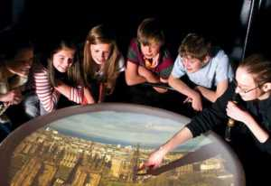 places to take kids camera obscura