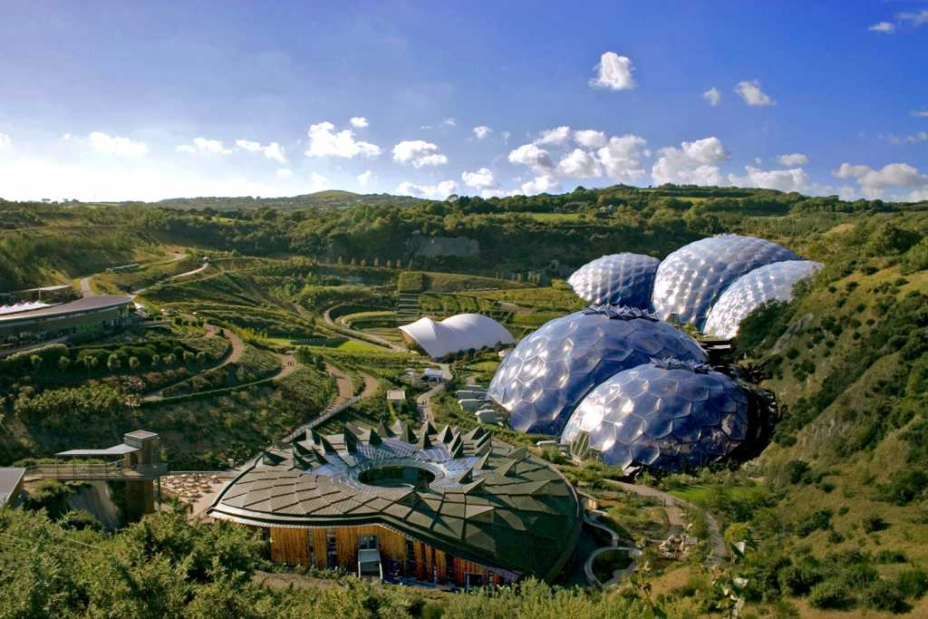 places to take kids eden project