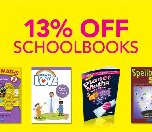 Save money on school books at Eason