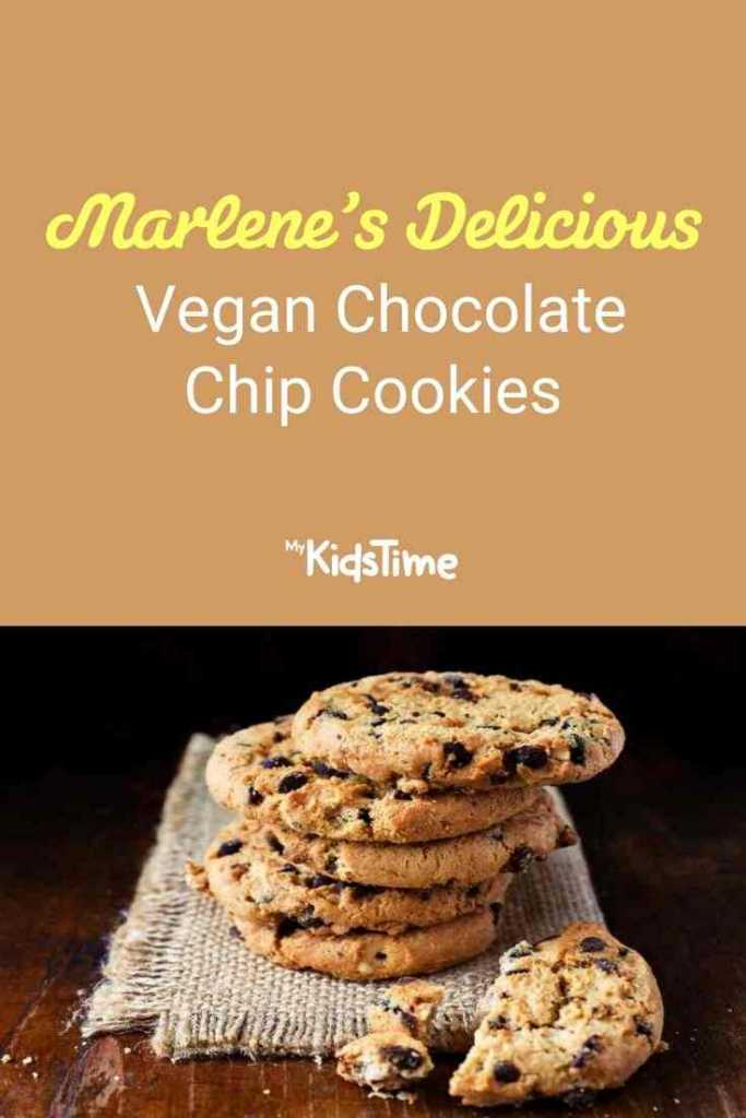 Marlene's Delicious Vegan Chocolate Chip Cookies