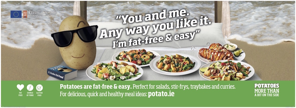 Potato Recipes from Bord Bia and Potato.ie summer 2018