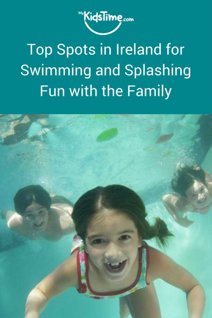 swimming and splashing fun